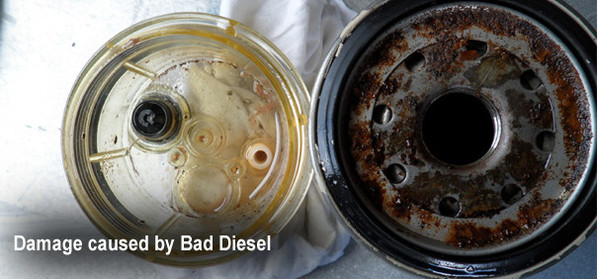 Bad Diesel Damage